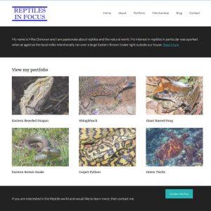 Reptile website