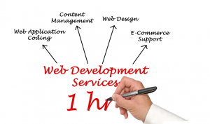 1 hour web development time