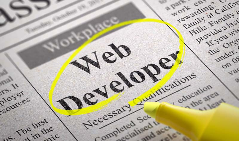 How to find a web developer?